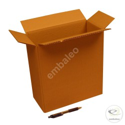 Cartón canal simple 27 x 13 x 29 cm
