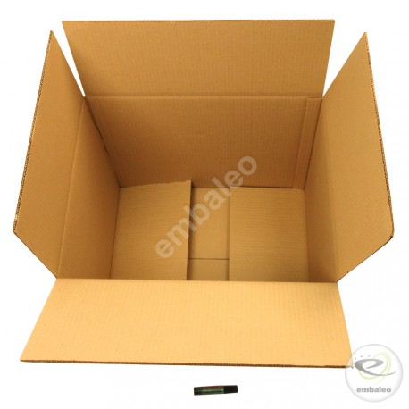 Cartón canal doble 50 x 40 x 40 cm
