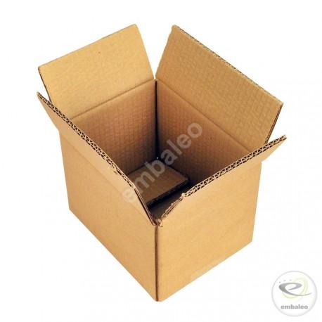 Cartón canal doble 16x12x11 cm