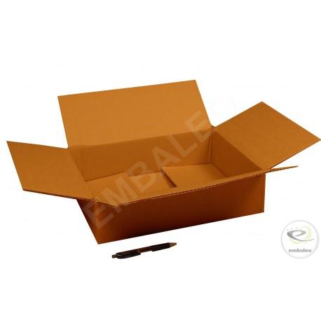 Cartón canal doble 40x30x10 cm