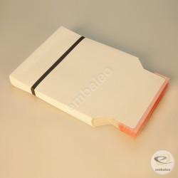 Sobre de cartón blanco CD 16 x 17,5 cm