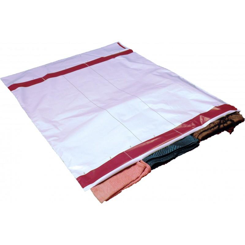 bolsa plástica opaca para envíos de ropa