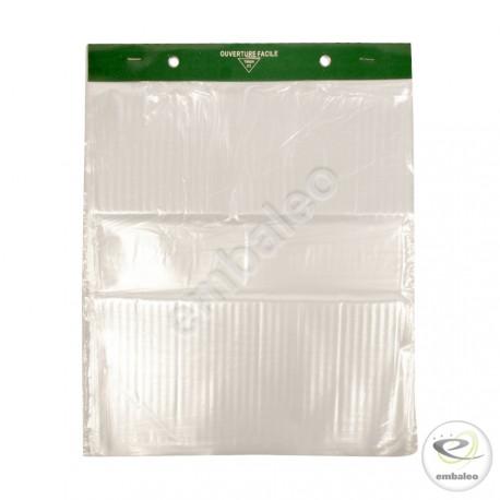 """Bolsas de plástico en Paquete Transparentes """"Grandes"""" 30x35"""