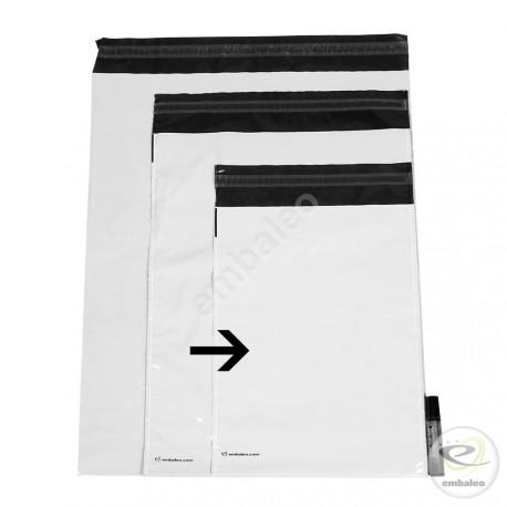 Pochettes plastiques opaques n°1 35 x 24 cm 55µ