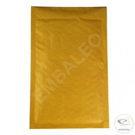 Sobre marrón con burbujas B Mail Lite Gold 12x21cm