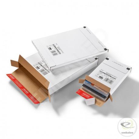 Caja postal de cartón 26,2 x 37,4 x 2,9 cm