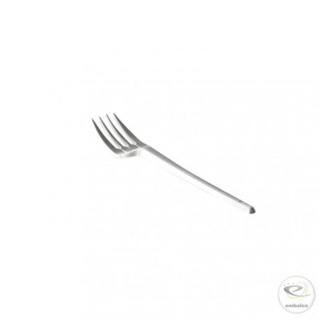 Tenedor plástico desechable 165 mm