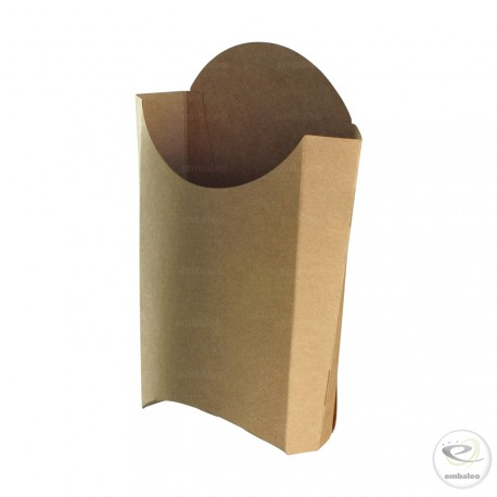 Cono de cartón para patatas fritas 170 mm