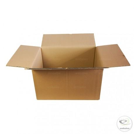 Caja de cartón de canal doble 42,5 x 31 x 24 cm