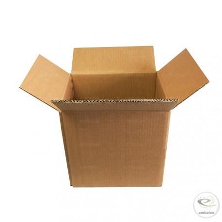 Caja de cartón de canal doble 32 x 26 x 33 cm