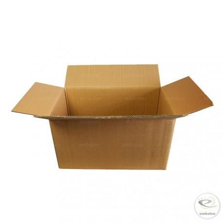 Caja de cartón de canal doble 53 x 31 x 29 cm