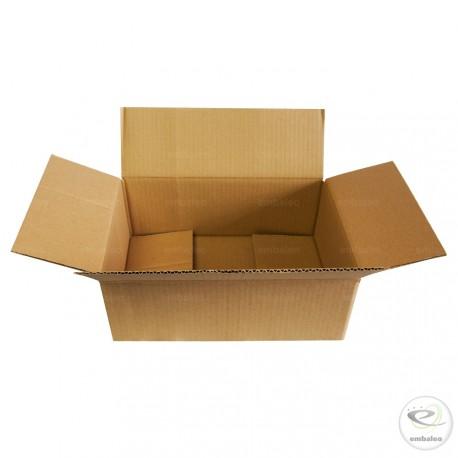 Cajas de cartón de canal simple 36 x 24,5 x 13,5 cm