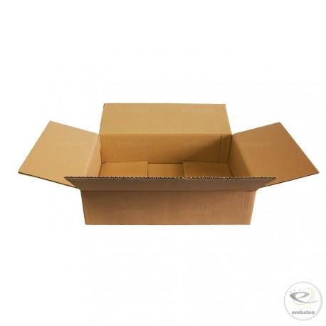 Caja de cartón de canal simple 41,5 x 31 x 11 cm