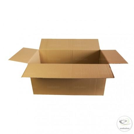 Caja de cartón de canal simple 69 x 33,5 x 33,5 cm