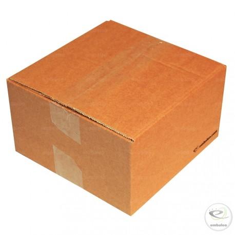 Cartón canal simple 20 x 20 x 11 cm
