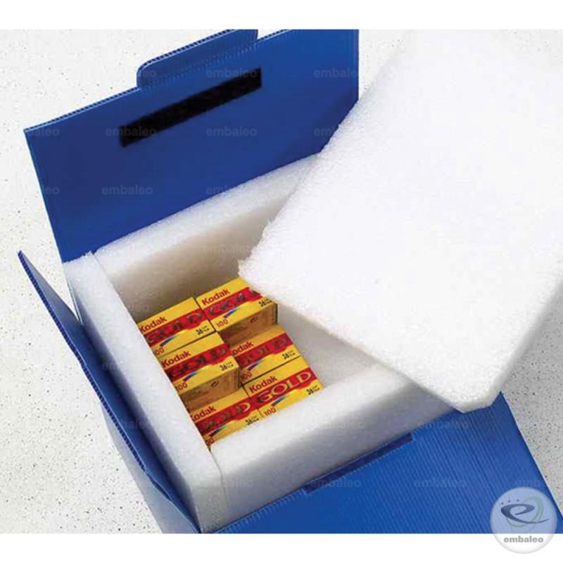 caja isotérmica polietileno y espuma