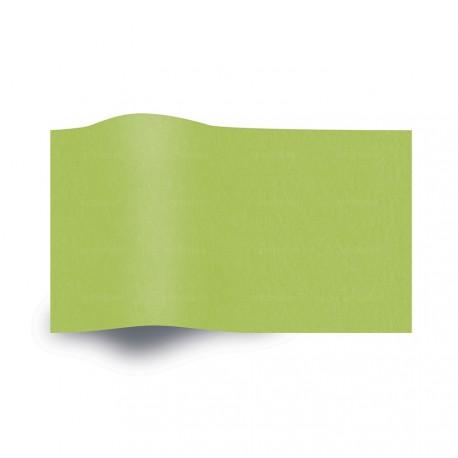Papel de seda verde citrus