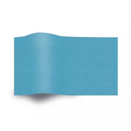 Papel de seda azul turquesa