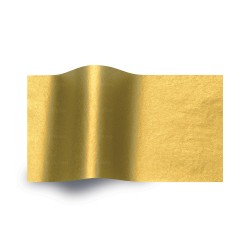 Papel de seda oro