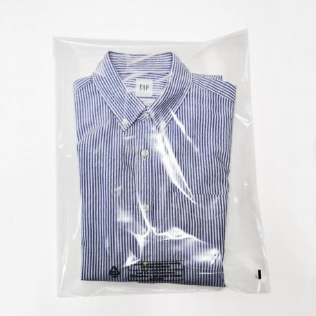 Pochette plastique transparente en polypropylène 35 x 45 cm