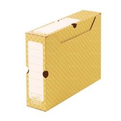 Cajas Archivo naranja 32,2 x 9,5 x 24,9 cm