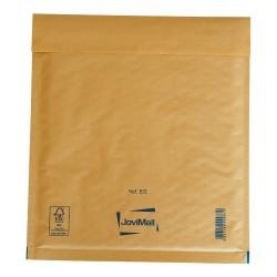 Sobre marrón con burbujas E Mail Lite Gold 22x26cm