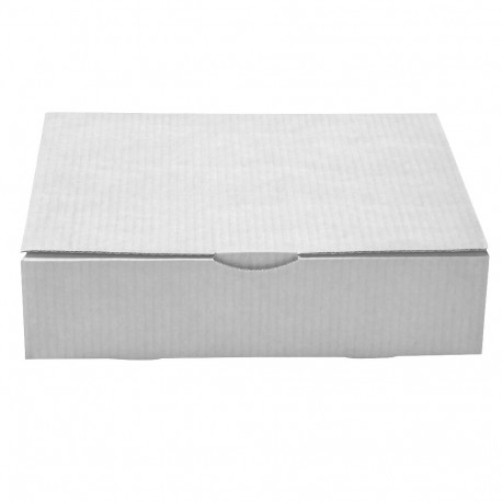 Caja postal blanca - Gran libro 33x25x8 cm