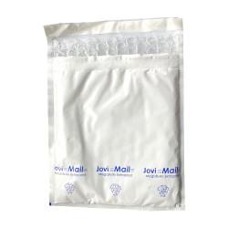 Sobres acolchados de plástico E MegaBurbujas Extraplast blanco 22 x 25 cm