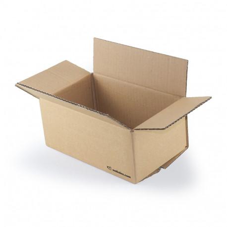 Cartón canal simple 25 x 15 x 10 cm