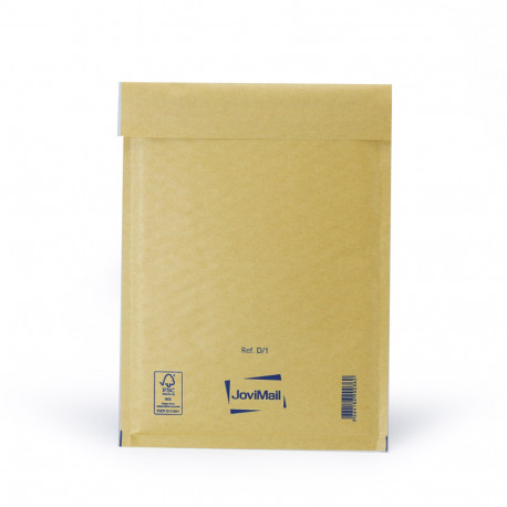 Sobre marrón con burbujas D Mail Lite Gold 18x26cm