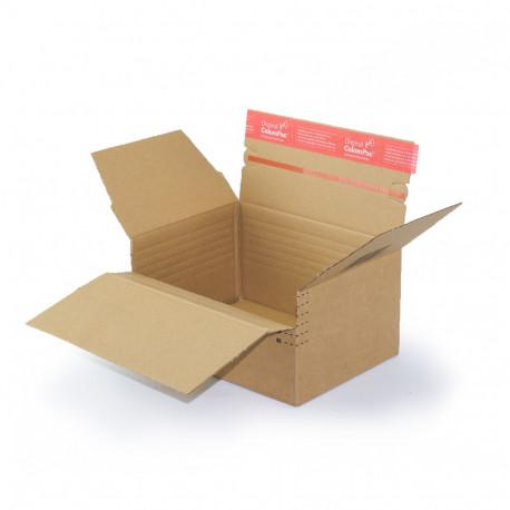 Caja de cartón de altura variable 22,9 X 16,4 cm