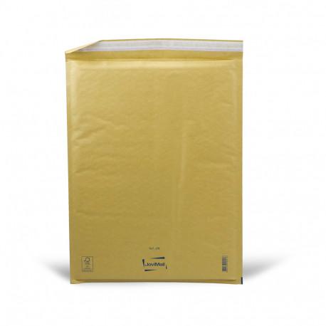 Sobre marrón con burbujas J Mail Lite Gold 30x44cm