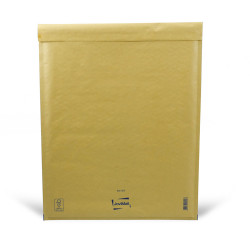 Sobre marrón con burbujas K Mail Lite Gold 35x47cm