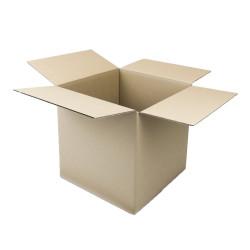 Cartón canal simple cuadrado 35 x 35 x 35 cm