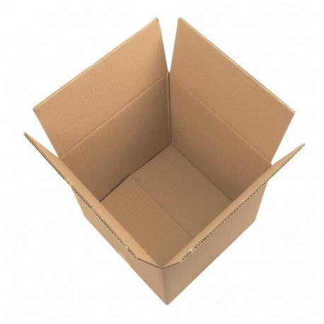 Cartón canal doble cuadrado 50 x 50 x 50 cm