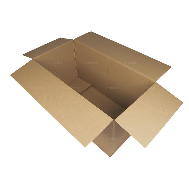 Caja de cart n canal doble 100x50x50 cm for Wohnzimmertisch 100 x 50